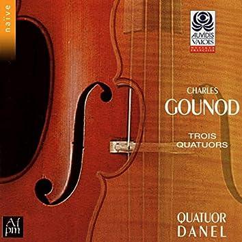Charles Gounod: Trois quatuors