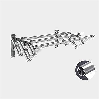 JSMY Séchoir à Linge-Alliage d'aluminium Robuste fixé au Mur,économiseur d'espace Pliable réglable,idéal pour la buanderi...