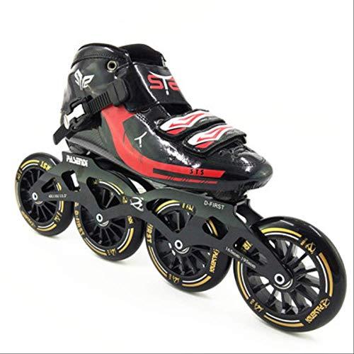 STBB Rollschuhe Speed Skates Roller Racing Skating Handgemachte Inline Speed Skat Skating Schuhe Rollschuhe Hohe Qualität 8