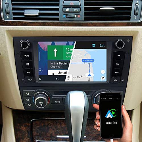 DYNAVIN N7-E90 Pro 7 Zoll Autoradio Navi GPS Navigation : Unterstützung von DAB + Digitalradio iOS Android Auto BT Rückfahrkamera Ready USB für BMW E90 E91 E92 E93 3er 2006-2013