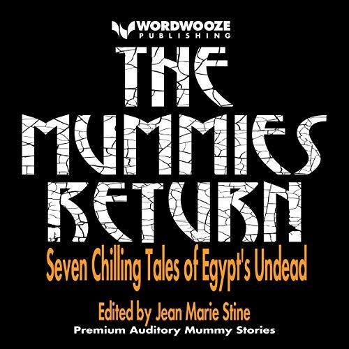 The Mummies Return audiobook cover art