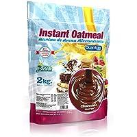 Quamtrax Nutrition Avena Instantánea, Sabor Chocolate - 2000 gr