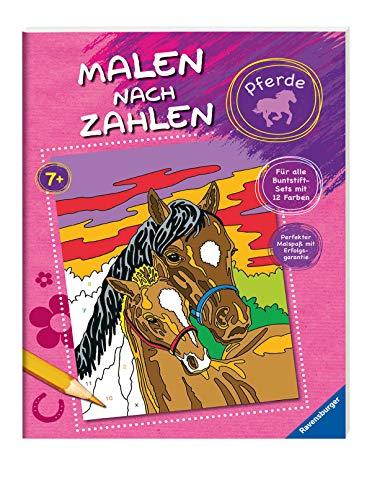Malen nach Zahlen: Pferde