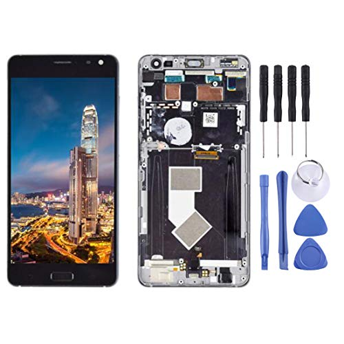 Zhouzl Mobile Phone LCD Screen LCD Screen and Digitizer Full Assembly with Frame for ASUS ZenFone AR / zs571kl / vk570kl (Black) LCD Screen (Color : Black)