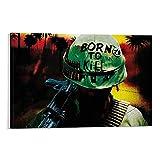 ASDWE Full Metal Jacket 1096 Leinwand-Wandkunst, Vintage,