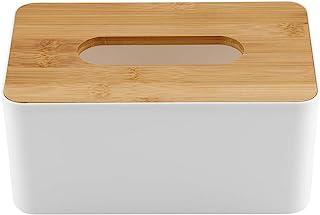 5 Tissue Box Holder, Pp Main Body Simple And Modern Design Large Opening Design Plastic Tissue Box Tissue Box Cover, Durab...