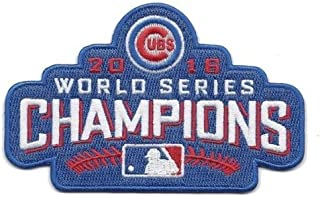 world series patch cubs