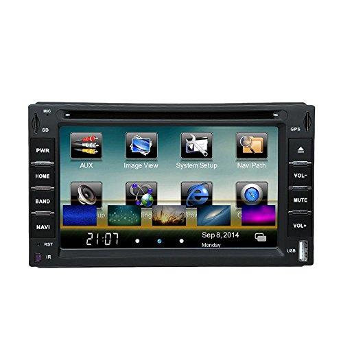 KKmoon Bluetooth Radio Navigation Multimedia Player System für Auto 6 ' 2 Din