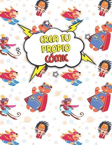 Crea tu Propio Cómic: 110 Páginas con Cuadrículas de Cómics Vacías Para Dibujar (A4) - Para Adultos y Niños - Variedad de Paneles (3,5,7 y 9 Paneles)