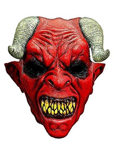Halloween Carnaval de partie masque diable complet de latex costume d'horreur pour adultes