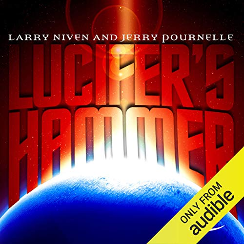 Lucifer's Hammer audiobook cover art