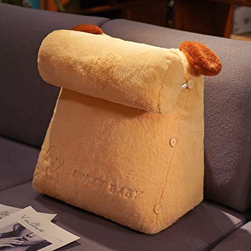 Keilkissen Für Bett Und Sofa | Rückenstütze | Nackenkissen | Lesekissen | Das Perfekte Couch Kissen Für Ihr Zuhause,H-45X42X25CM