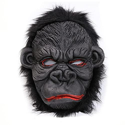 HLKJGS Máscara de Gorila de Fiesta de Halloween, Cosplay Cabeza...