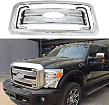 YOUNGERCAR Chrome Grill Cover for 2011-2016 Ford F-250 F-350 F-450 F-550 Super Duty Front Bumper Hood Grill Cover 8pcs - Cover Only