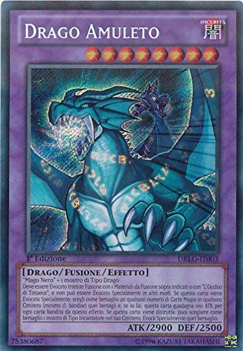 YU-GI-OH! - DRLG-IT003 - Drago Amuleto - Draghi della Leggenda - 1st Edition - Segreta