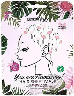 Derma V10 Flamingo Print Hair Mask