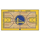 FANMATS 9264 NBA Golden State Warriors Nylon Face NBA Court Runner-Large,Team Color,29.5x54