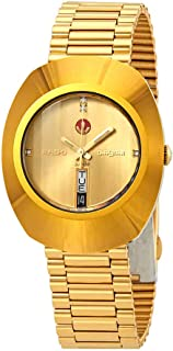 Rado Original Diastar Gold-Toned Analog Watch for Men R12413773