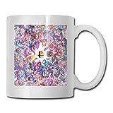 Taza de cerámica blanca Taza de café brillante Taza de bebida Oficina Regalo divertido 11.6oz (330ml) Super Smash Bros...