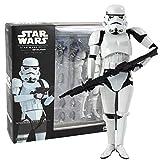 Yuirwe Star Wars Colección Figurine PVC 16cm Serie Negra Sandrooper Darth Maul Toy Toy Modelo de Juguete-B con Caja al por Menor
