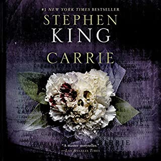 Carrie                   By:                                                                                                                                 Stephen King                               Narrated by:                                                                                                                                 Sissy Spacek                      Length: 7 hrs and 24 mins     2,377 ratings     Overall 4.5