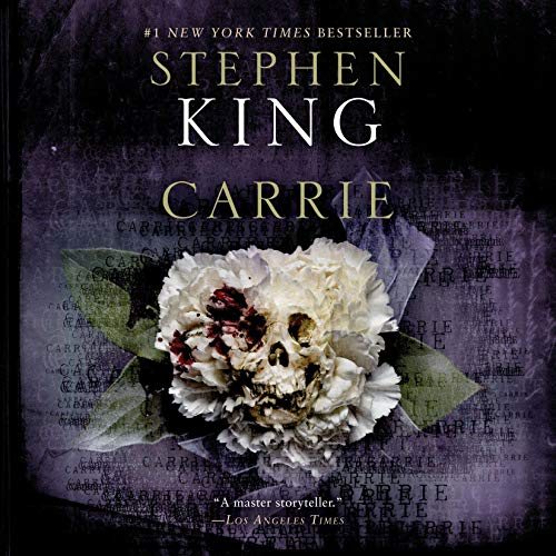 Carrie Audiobook By Stephen King cover art
