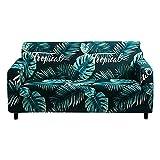 WXQY Funda de sofá elástica elástica,Funda de sofá Antideslizante para decoración del hogar,Sala de Estar,Funda de sofá de protección para Mascotas A8 de 2 plazas
