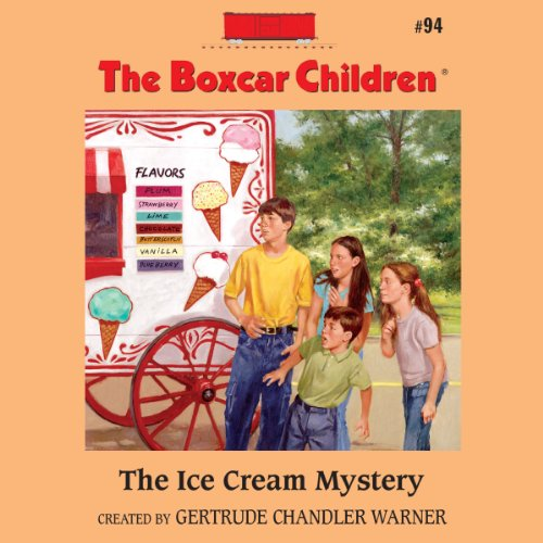 The Ice Cream Mystery audiobook cover art