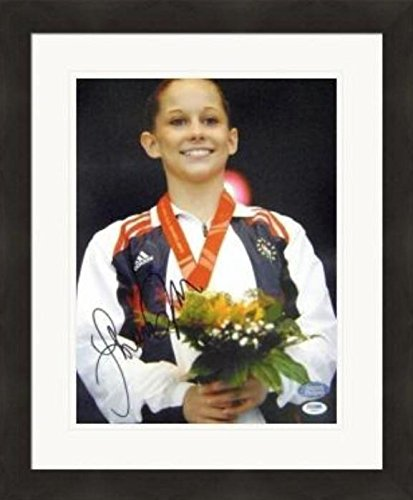 Shawn Johnson USA Olympics Gymnastics Double Matted 8x10 Photograph 2011 Uneven Bars