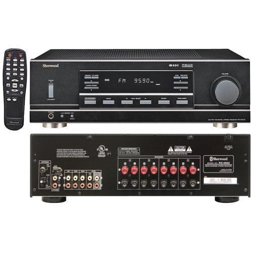 Sherwood Rx-5502 Multisource Dual Zone A/V Receiver