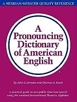 Pronouncing Dictionary of American English