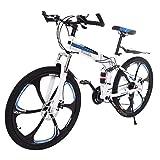 Best Dual Suspension Mountain Bikes - DJKDJ 26 Inch Bike high Carbon Steel Full Review