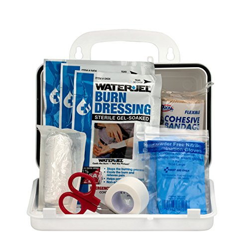 first aid only made first aid kits First Aid Only 440-O/FAO Burn Kit, 10 Unit Plastic Case