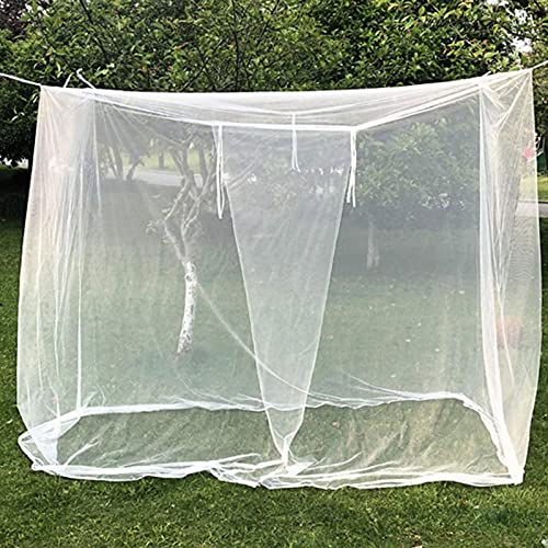 WANGQ Mosquitera cuadrada para tienda de campaña de 200 x 180 x 200 cm, universal, dosel para cama de camping