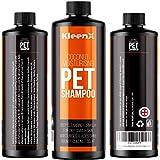 Kleenx Shampoing et après-shampoing pour Chien de Coco 1 Litre - pour Un Usage Quotidien - pour Les odeurs et Les démangeaisons, Les Chiens et Les Animaux domestiques