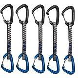 Metolius 5 Pack Bravo II Wiregate Quickdraw - Black/Blue 6