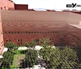 Red antipaloma AVIFIN 10x10 metros. La que utilizan los profesionales para proteger patios, terrazas y edificios contra las palomas. Ficha técnica y garantía de marca. Otras medidas disponibles.
