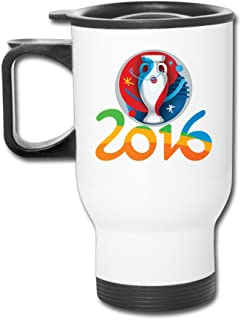 ZOENA 2016 Logo Football Poster Travel Mug Milk Cup