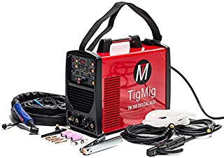 Soldador Inverter Tig TM200 Digital Alu, CA-CC, 200 A, 60%