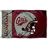College Flags & Banners Co. Montana Grizzlies Football Helmet Flag