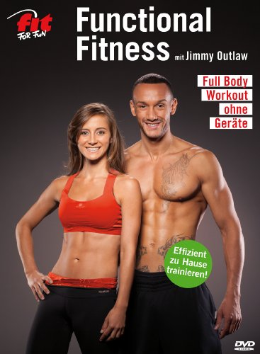Fit for Fun - Functional Fitness mit Jimmy Outlaw - Full Body Workout ohne Geräte [Alemania] [DVD]