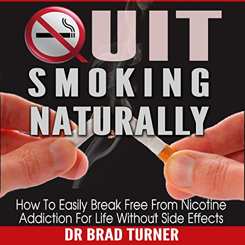 Quit Smoking Naturally audiobook cover art