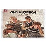 Poyxiya One Direction - Puzzle de fotos (1000 piezas, hecho a mano, para padres e hijos)