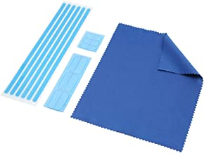 SenseAGE Privacy Screen Adhesive Plastic Tabs and Strips for Monitors and Laptops