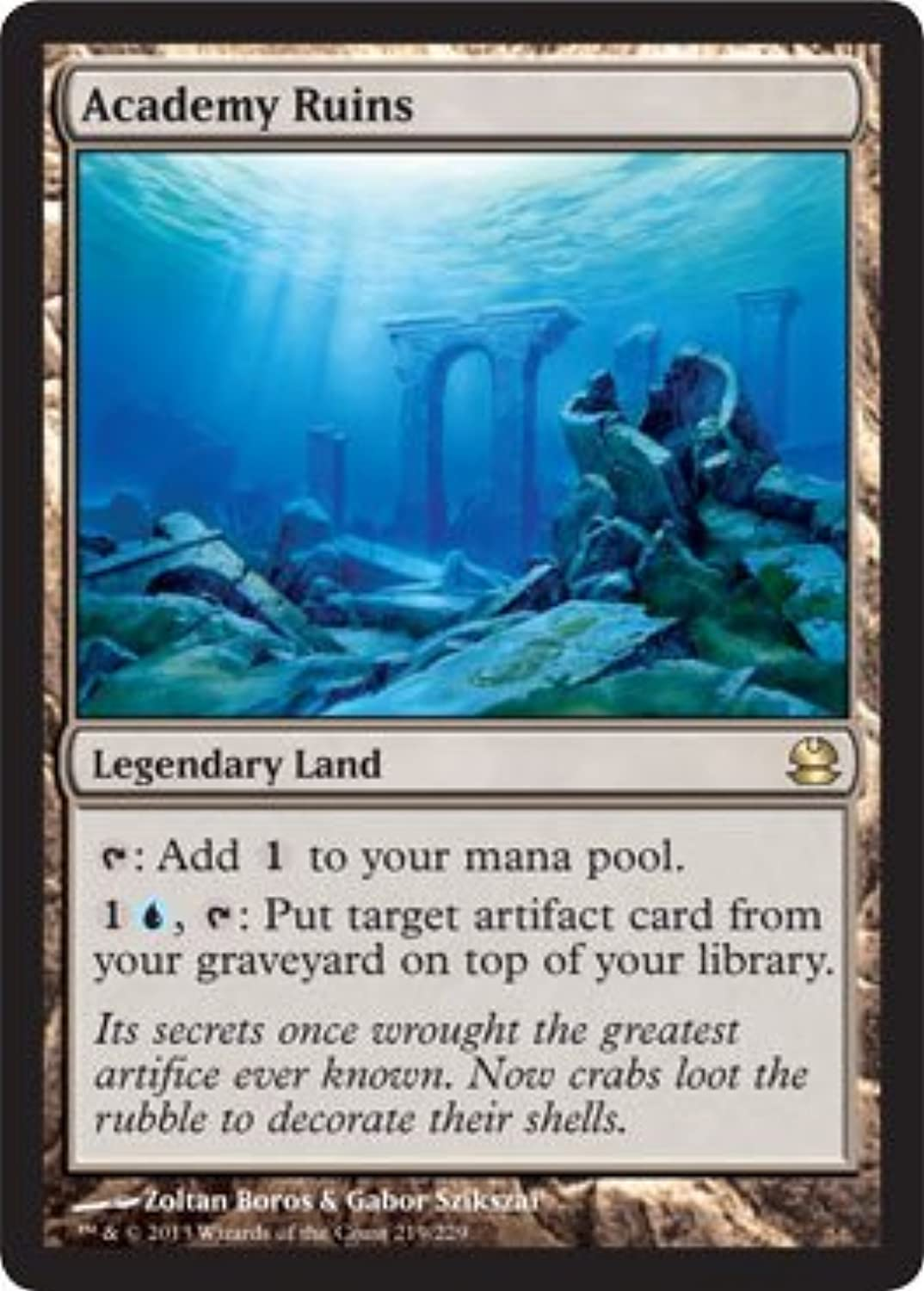 Sin impuestos Magic  the Gathering - - - Academy Ruins - Modern Masters by Magic  the Gathering  ahorre 60% de descuento