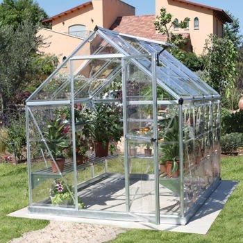 Palram Industries Harmony 6 X 8 Feet Greenhouse with Starter Kit