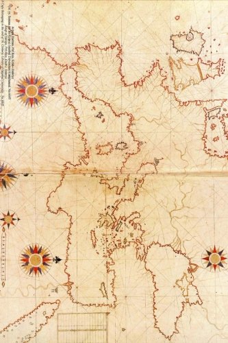 Piri Reis 16th Century Map of Europe Journal: Take Notes, Write Down Memories in this 150 Page Lined Journal