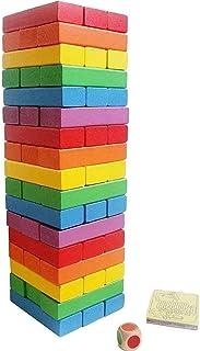 لعبه جينجا الخشبيه 48 قطعه-اكسسوارات العاب البناء والانشاءات
