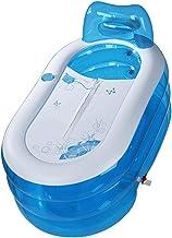 Bañera hinchable de XUZG, para adultos, hinchable, plegable y fácil de guardar, diseño de piscina hinchable, 130*70cm