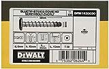 DEWALT DFM1420030 - Anclaje tipo tornillo de punta azul con cabeza redonda BT6x50 Bolt-ZnPlt (Env. 100 Ud.)